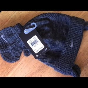 Nike hat with gloves toddler